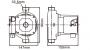 Bomba Circuladora Warma RS 20/12T