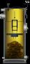 Caldeira Geradora de Água Quente à Lenha de Longa Duração S20