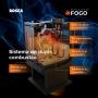Calefator Bosca Gold 380 Charcoal