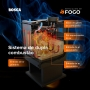 Calefator Bosca Gold 800 Charcoal