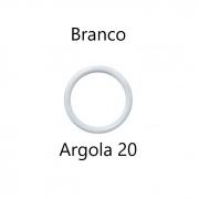 ARGOLA PLASTICA JOWAMA ARC20MM COR BRANCA - 144PC-5623
