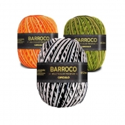 Barbante Barroco Multicolor Premium Círculo 200g