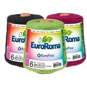 Barbante Colorido nº6 Eurofios 600g