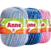 Fio Anne 500 Multicolor Círculo 500mt
