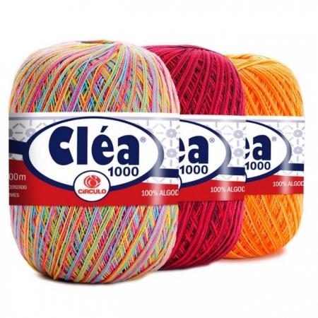 Fio Cléa 1000 Multicolor Círculo 1000mt