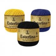 Fio Esterlina nº8 Coats Corrente 350mt