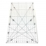 Régua Acrílica para Patchwork Lanmax 15x30cm