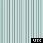 Tecido Tricoline Listrado Tons de Azul Fuxicos e Fricotes 1,00 X 1,50m