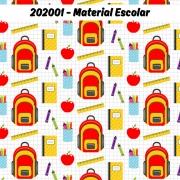 Tecido Tricoline Material Escolar Fabricart 1,00 x 1,50m