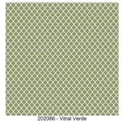 Tecido Tricoline Vitral Verde Fabricart 1,00 x 1,50m