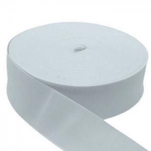 Elástico Reforçado Branco 2150 50mm São José 25m