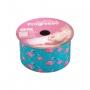 Fita de Gorgurão nº009TR 38mm Progresso Cor:045 Tiffany Flamingo 10m