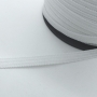 Fita Elástica para Máscara Branco Britânnia 6,5mm