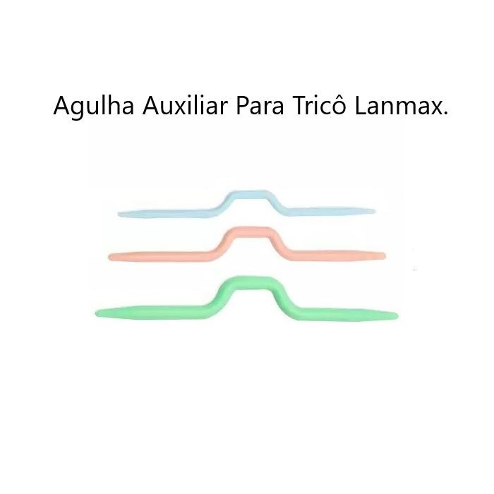 Agulha de Tricô para Trança Lanmax com 3 peças