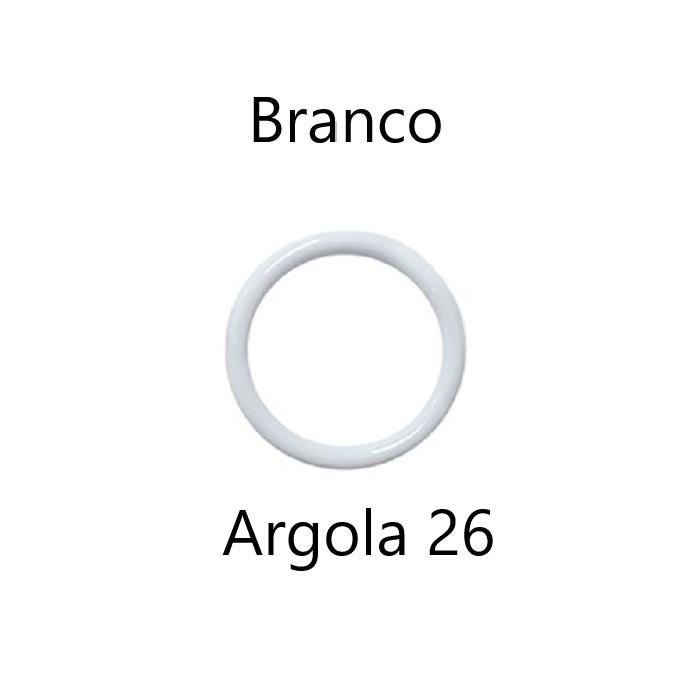 Argola Branca Tamanho 26 Ritas com 144 unidades