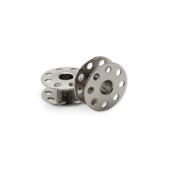 Bobina Industrial de Metal Cromada Lanmax com 2 peças