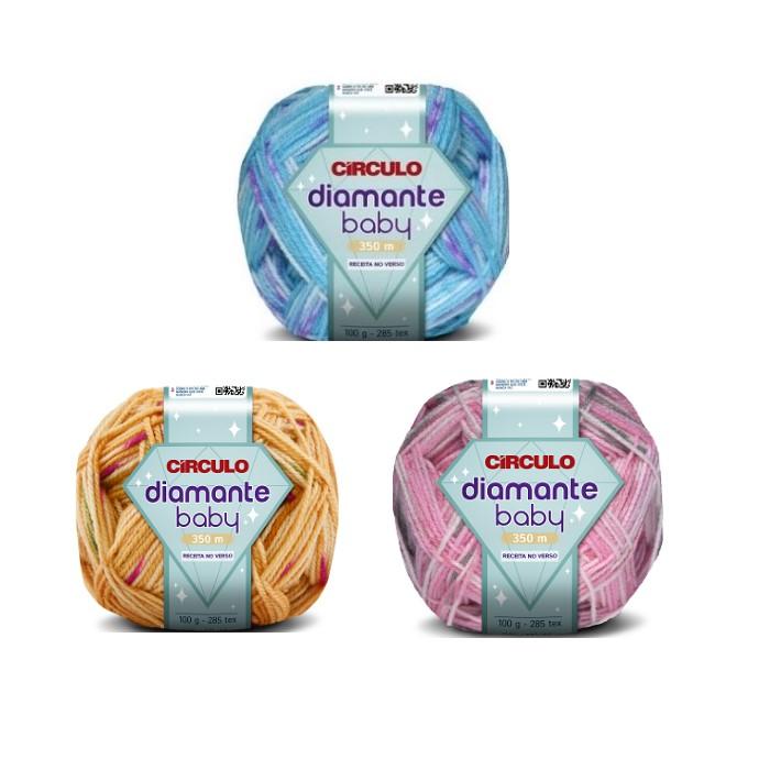 Fio Diamante Baby Círculo 100gr