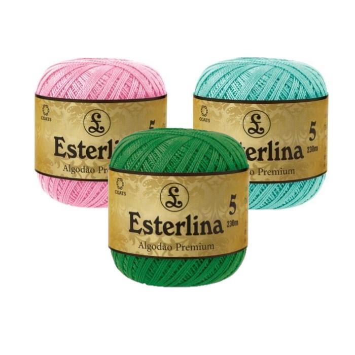 Fio Esterlina nº5 Coats Corrente 230mt