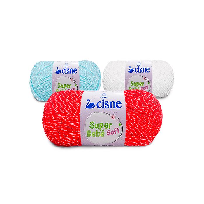 Fio Super Bebê Soft Cisne 100 g