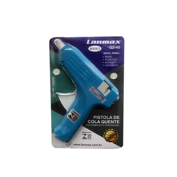 Pistola De Cola Quente Lanmax 13w