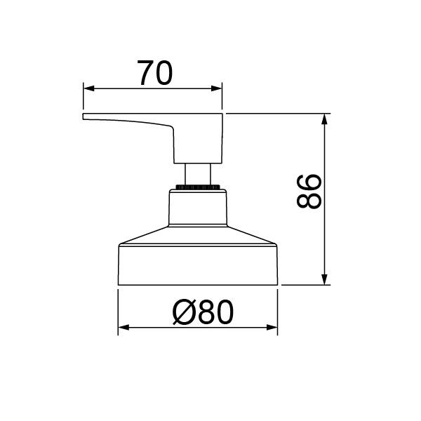 """Acabamento Para Registro de Gaveta 4900 C32 1.1/4"""" a 1.1/2"""""""