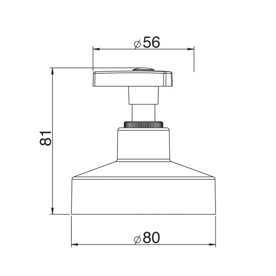"""Acabamento Registro de Gaveta 4900 C30 1.1/4"""" e 1.1/2"""""""