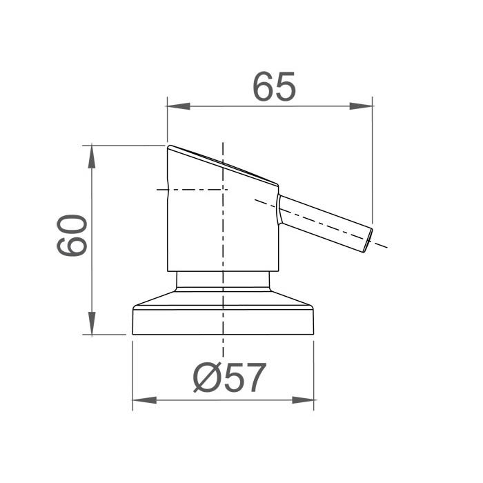 """Acabamento Registro de Gaveta e Pressão Swan 1/2""""  4901 C42"""