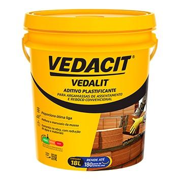 Aditivio Plastificante Vedalit Balde 18L