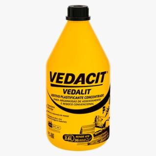 Aditivo Plastificante Vedalit 3,6 litros
