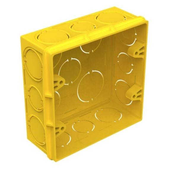 Caixa Quadrada Tigreflex 4x4