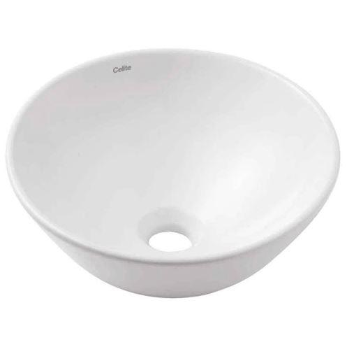Cuba para Banheiro de Apoio Redonda Basic R1 - Branca