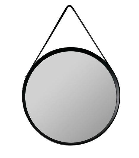 Espelho Com Alça 51,5cm St40469 - Preto