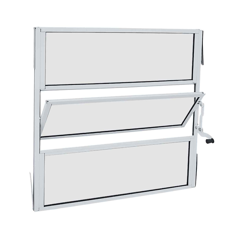 Janela Basculante Alumínio Alumifit 60x60