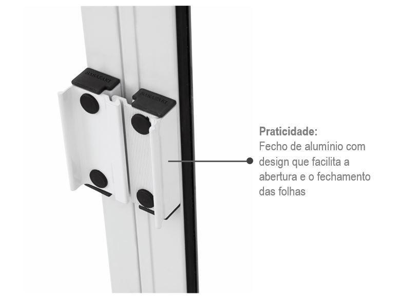 Janela De Correr 4 folhas Alumifit 100x150 - INATIVO