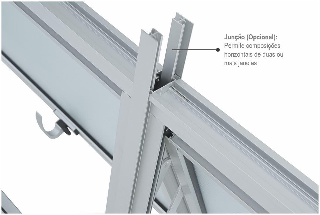 Janela Maxim-Ar Alumifort Sem Grade 60x80