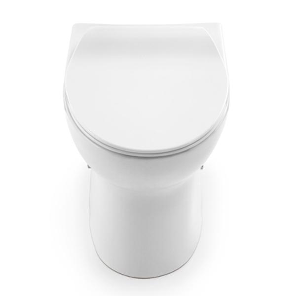 Kit Bacia Convencional + Itens de Instalação Loggica Branco