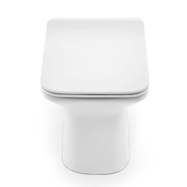 Kit Bacia Convencional + Itens de Instalação Stillo Branco