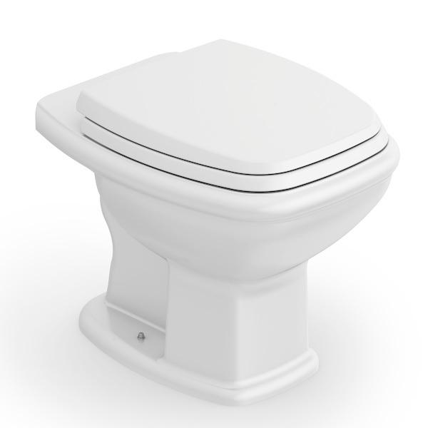 Kit Fit Plus Bacia Convencional com Assento e Acessórios - Branco