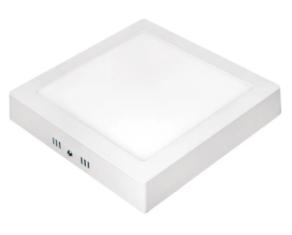 Luminária Plafon Quadrada de Sobrepor Home LED 285X28mm 24W 6500K Bivolt LLUM RL29246BC