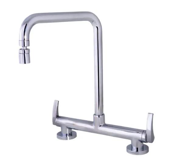 Misturador de Mesa para Cozinha Com Bica Móvel Fácil Dn15 1256 C55