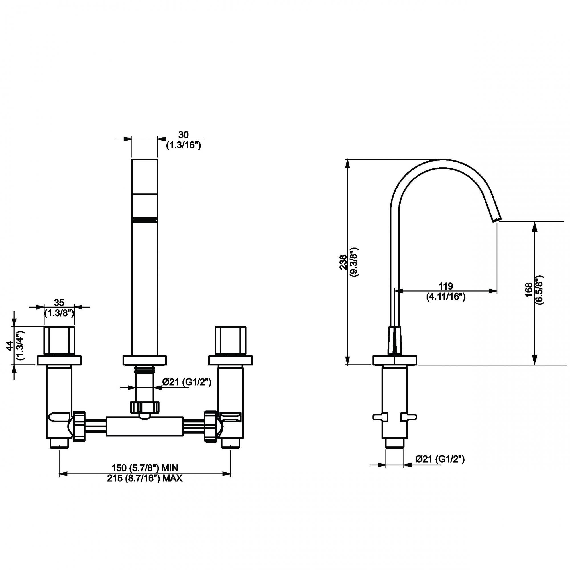Misturador para Lavatório Mesa Dom Dn 15 1877 C-33