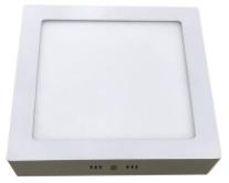 Plafon de Sobrepor Home LED Quadrado 18W 6400K Bivolt - Luz Branca