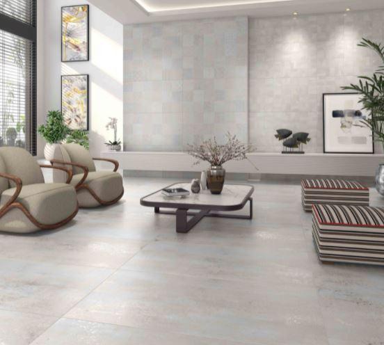 Porcelanato Arts Blanc Acetinado 62x121Cm Cx.2.25m²