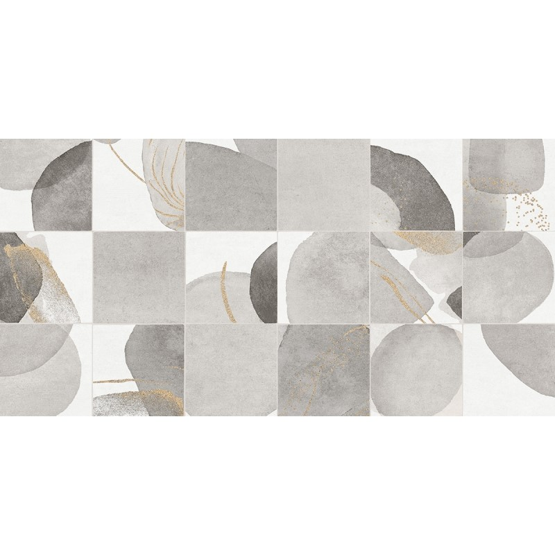 Porcelanato Artsy Gray 62x121cm Cx.2,25