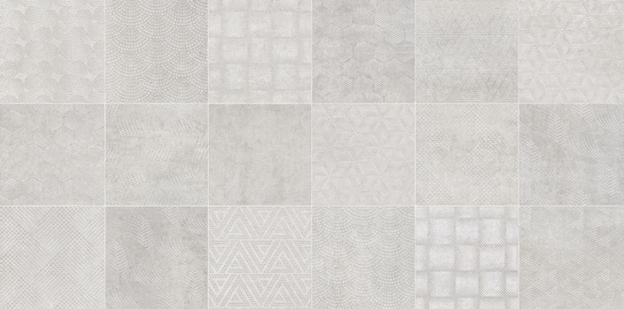 Porcelanato Austin Decor Gray 62x121Cm Cx.2,25