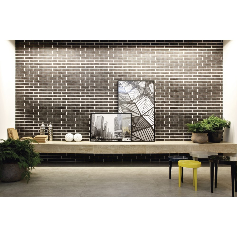 Porcelanato Broadway Cement Externo 90x90cm Cx.1,61m²