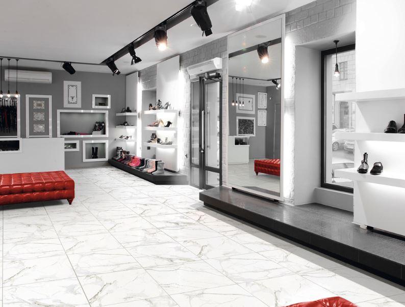 Porcelanato Carrara 61x61Cm Cx.1,87