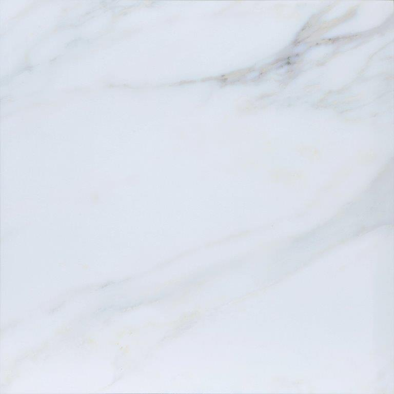 Porcelanato Carrara Liscio Brilhante 64x64cm Cx.2,02