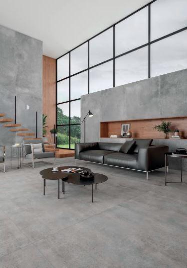 Porcelanato Nord Cement 90x90Cm Cx.1,61
