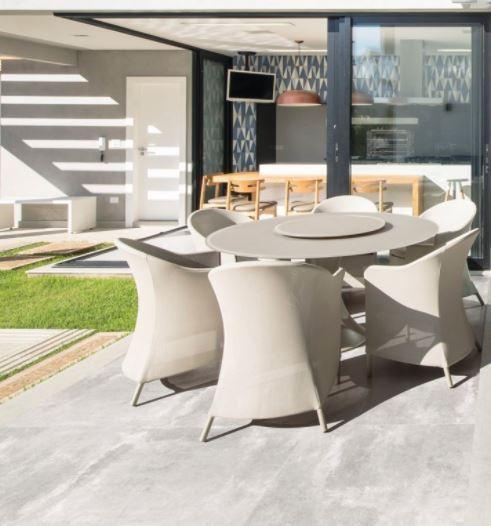 Porcelanato Soft Concret Plus acetinado 83029 83x83 Cx.2,05m²
